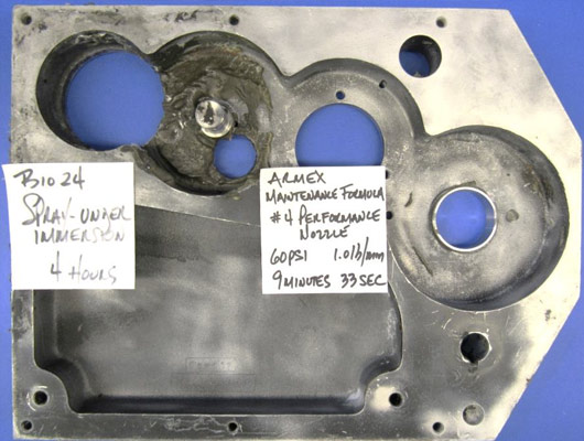 Soda Blasting Stainless Steel and Aluminum   ARMEX Soda