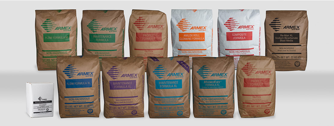 ARMEX Soda Blasting Products